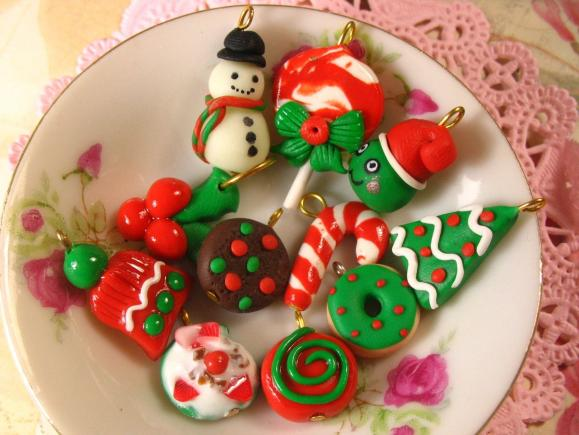 Assorted Christmas Goodie Charm Bag 25pcs