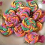 8pcs Swirl Candy Charms 20m..