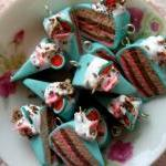 4pcs Cake Fun Charms - Wate..