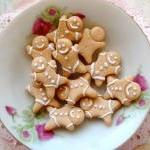 6pcs Gingerbread Cabochon